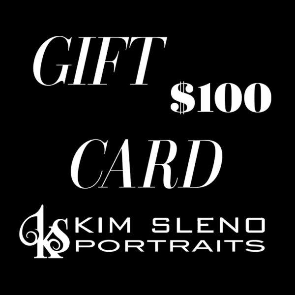 Kim Sleno Portraits - Gift Card 100