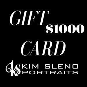 Kim Sleno Portraits - Gift Card 1000