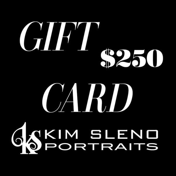 Kim Sleno Portraits - Gift Card 250